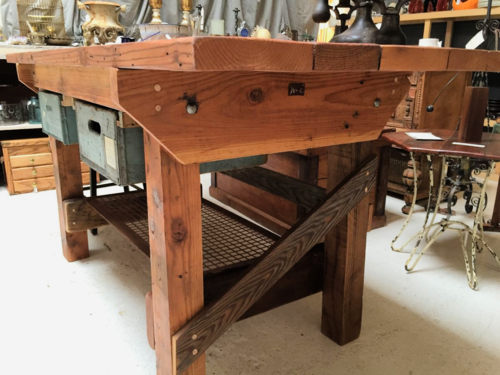 Whitcomb + Cate Workbench