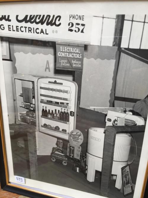 Vintage Santa Rosa Electric Photo